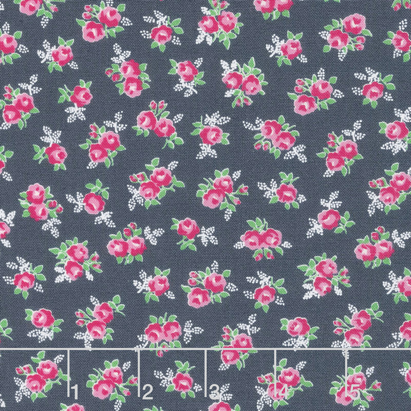 Guest Room - Sweet Floral Midnight Yardage