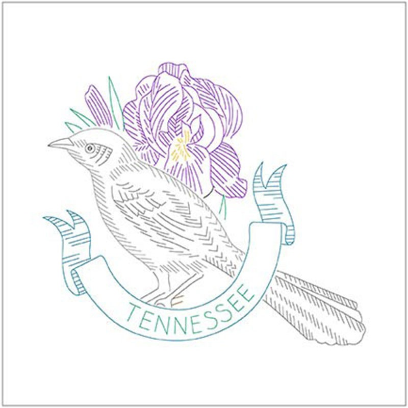 Birds of Liberty - Tennessee Digitally Printed Panel