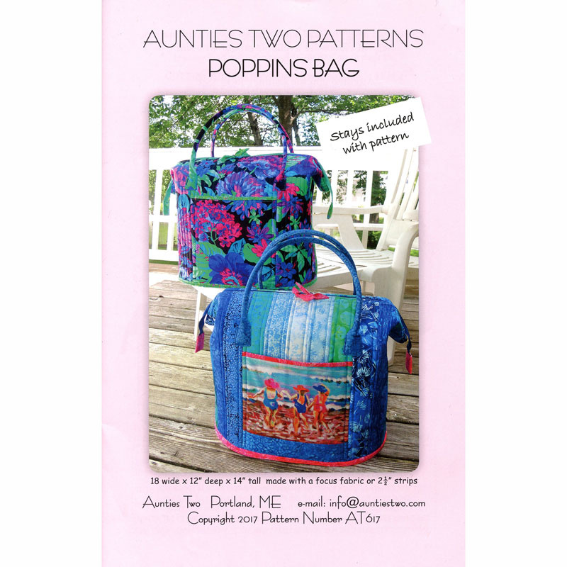 Poppins Bag Pattern - Aunties Two