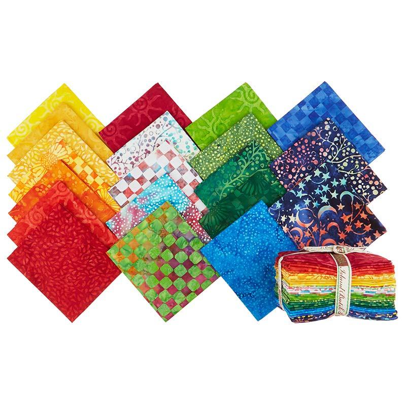 Colorpop Batiks Fat Quarter Bundle