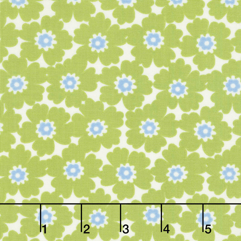 Lazy Days - Cosmos Pea Pod Yardage