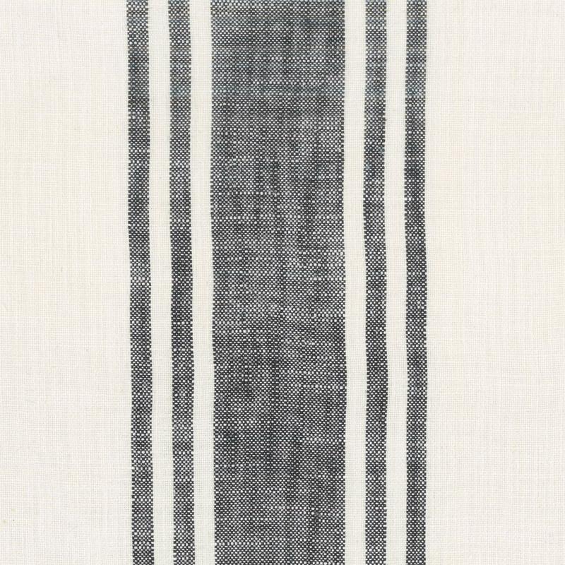 Urban Cottage - Wovens Center Stripe Ivory Black 16