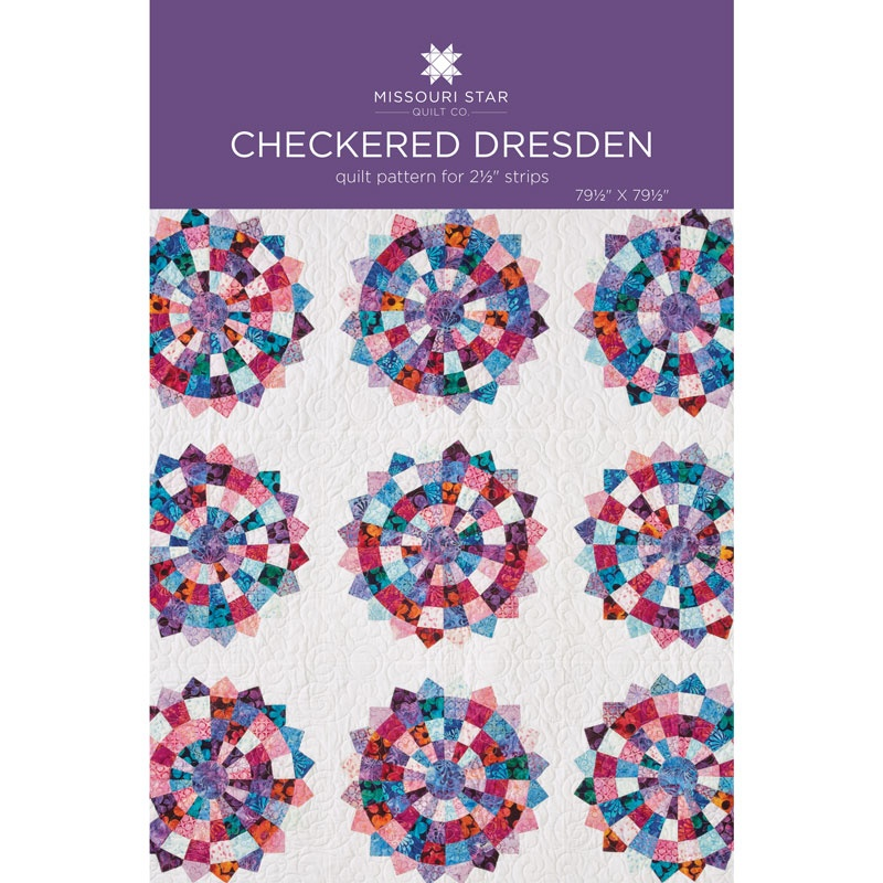 Checkered Dresden Quilt Pattern by Missouri Star | Missouri Star ...