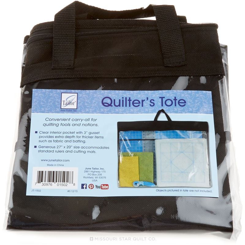 Quilter's Tote - June Tailor Company — Missouri Star Quilt Co. : quilting tote - Adamdwight.com