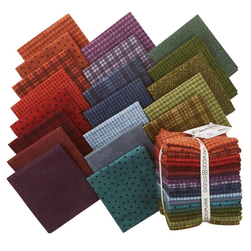 Woolies Flannel Colors Fat Quarter Bundle Bonnie
