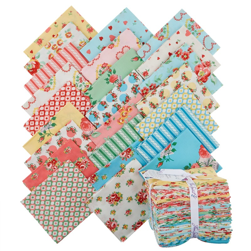 Love & Friendship Fat Quarter Bundle