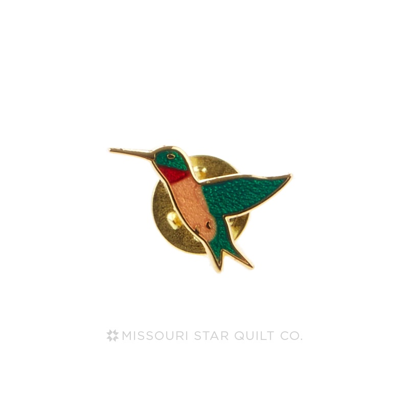 Hummingbird Pin by Pin Peddlers