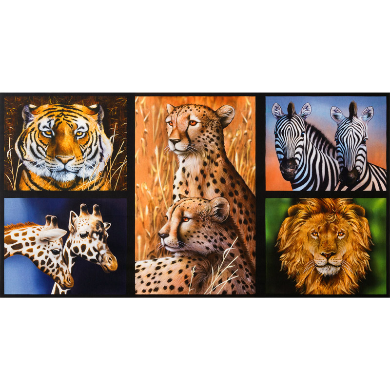Nature Studies - Animals Wild Digitally Printed Panel