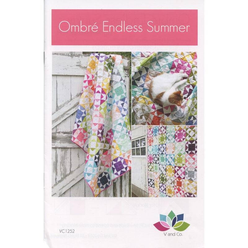 Ombre Endless Summer Quilt Pattern