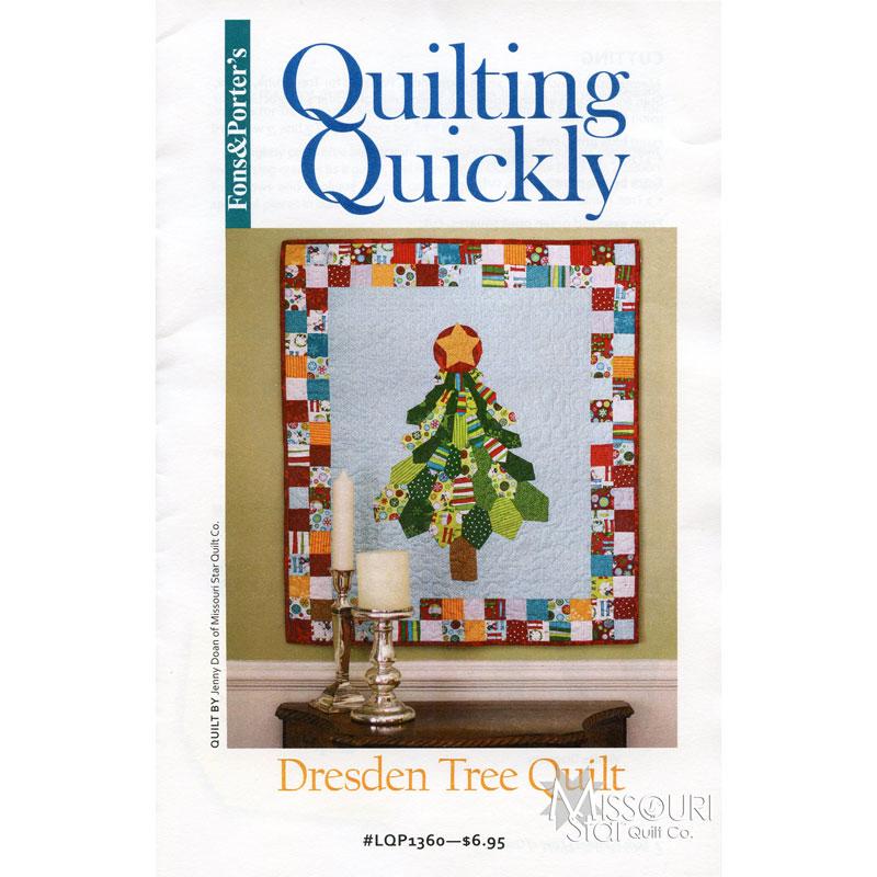 Dresden Tree Quilt Pattern - Fons & Porter — Missouri Star Quilt Co. : missouri quilt company patterns - Adamdwight.com