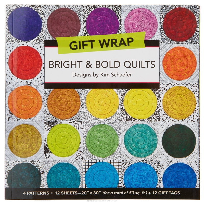 Gift Wrap - Bright & Bold Quilts Book