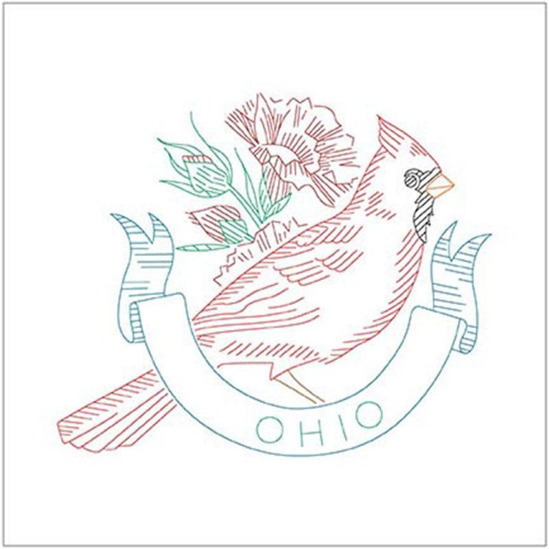 Birds of Liberty - Ohio Digitally Printed Panel