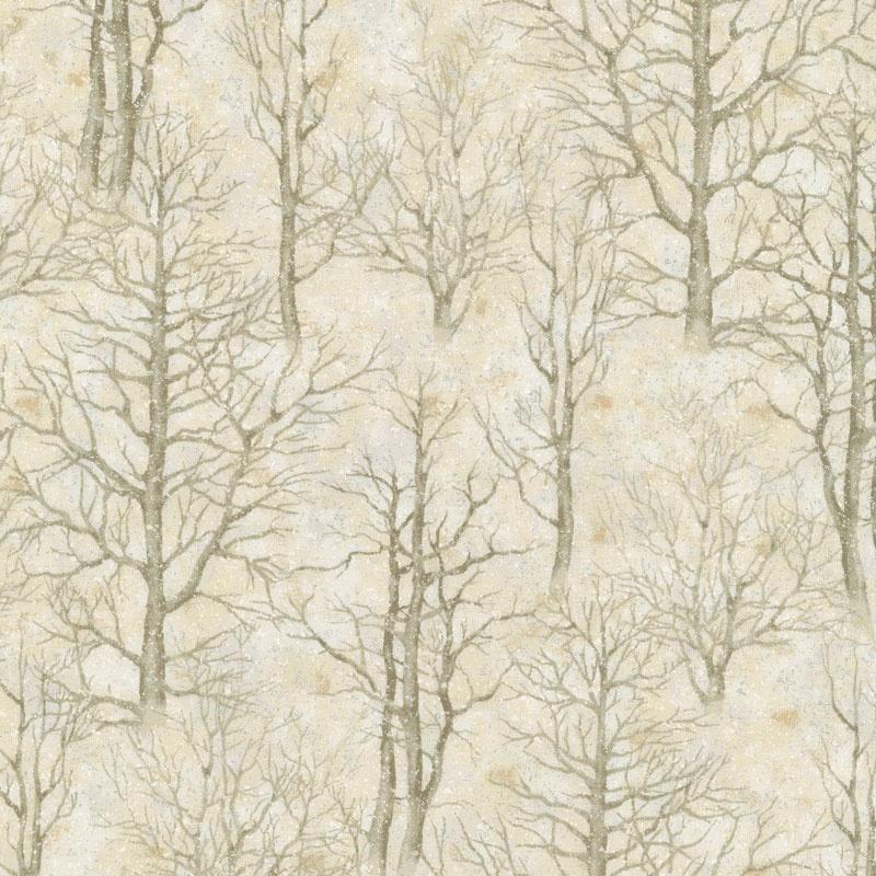 Sound Of The Woods 3 Skeleton Trees Natural Metallic