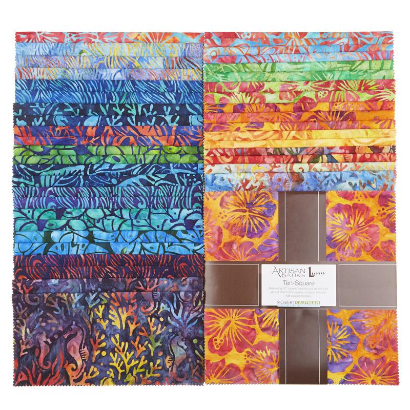 Artisan Batiks - Totally Tropical Ten Squares