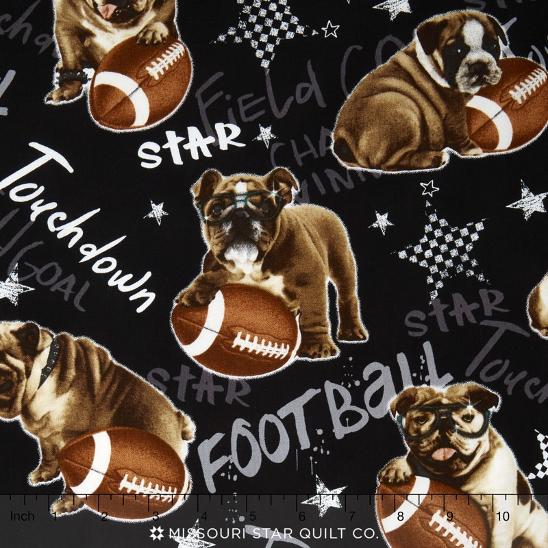 All Sports - Team Mascot Black Yardage
