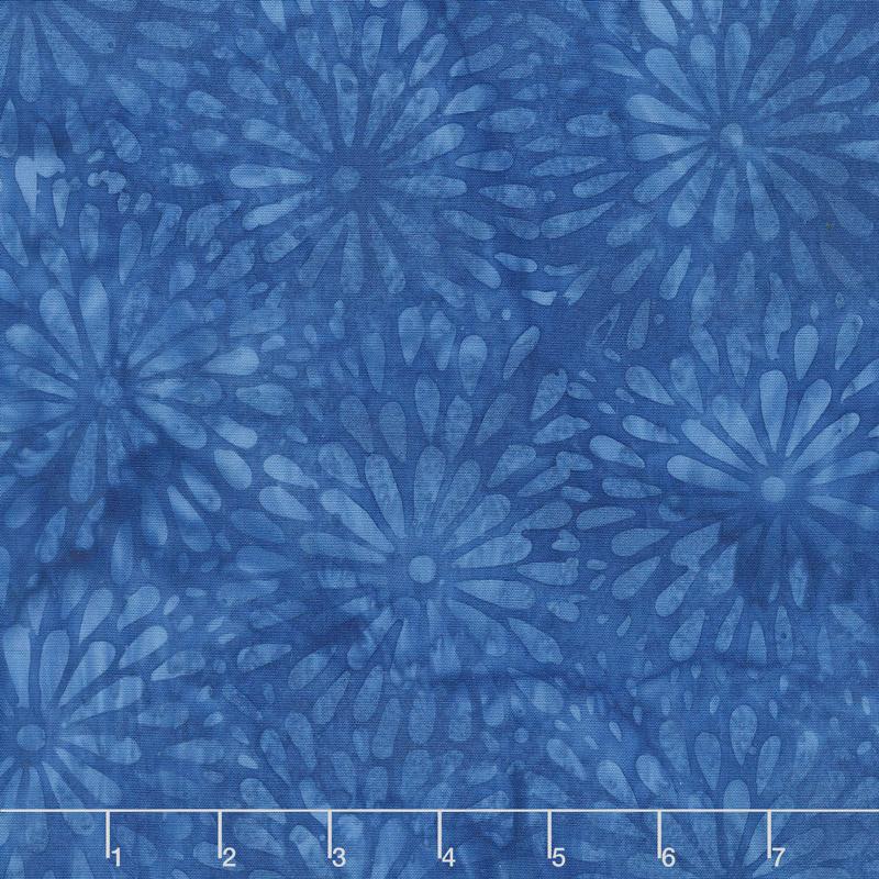 French Blue Batiks - Mum Universe Yardage