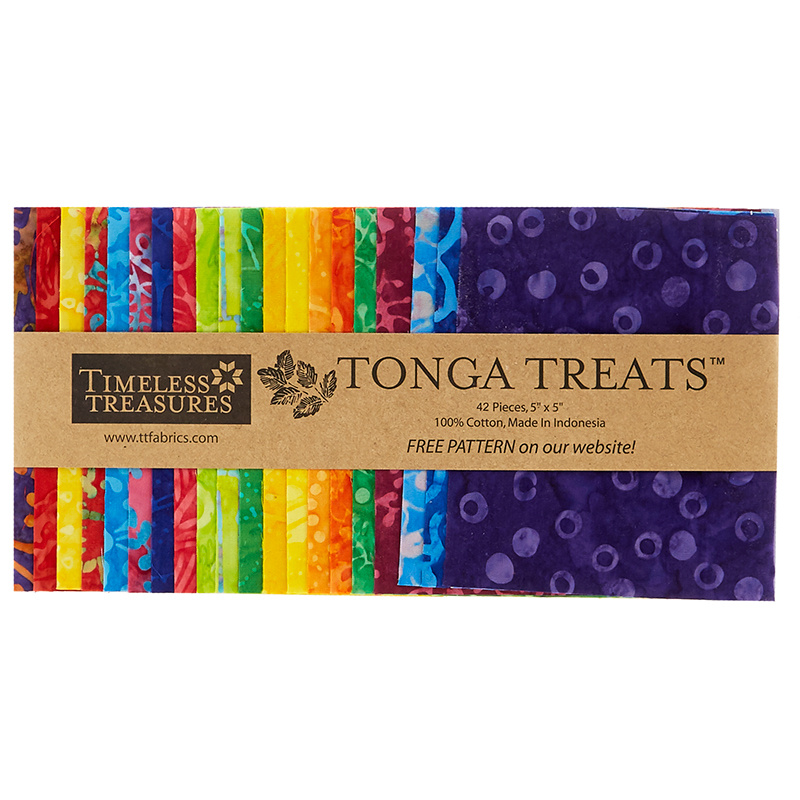 Tonga Treats Batiks - Jump Minis