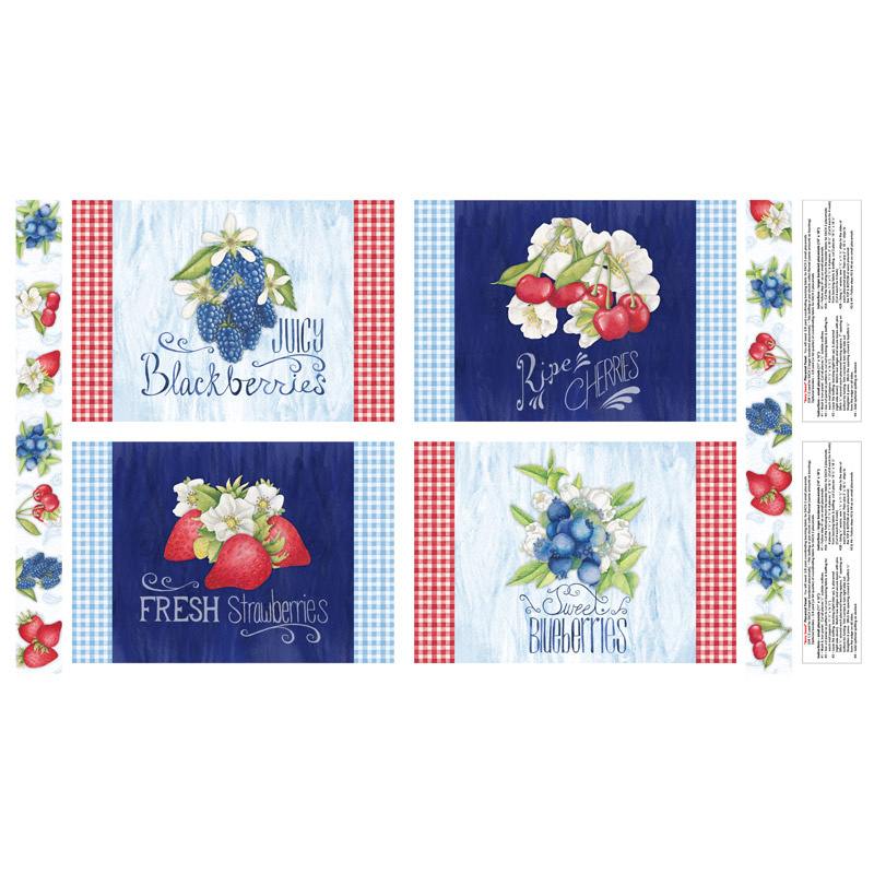 Berry Sweet - Place Mat Multi Panel