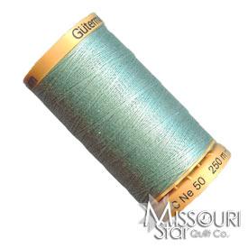 Gutermann 50 WT Cotton Thread Light Green