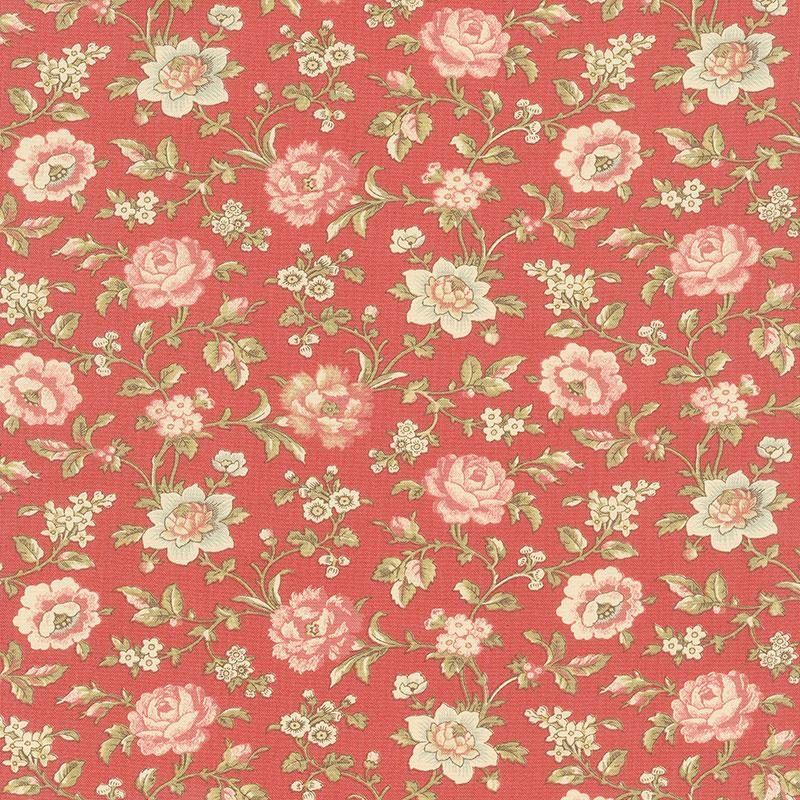 La Rose Rouge - Felicite Rouge Yardage