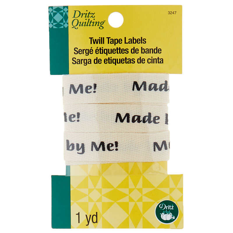 Made by Me! Twill Tape Labels