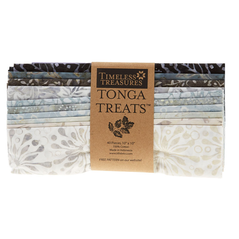 Tonga Treats Batiks - Graphite 10