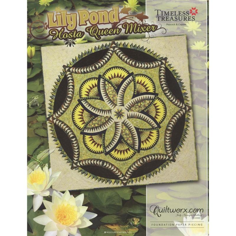 Lily Pond Hosta Queen Mixer Pattern Quiltworx