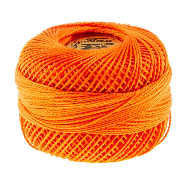 Presencia Perle Cotton Thread Size 8 Tangerine
