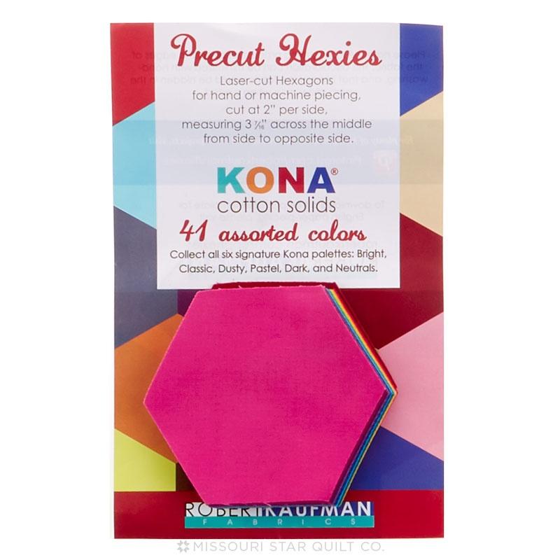 Kona Cotton - Classic Hexie Cuts
