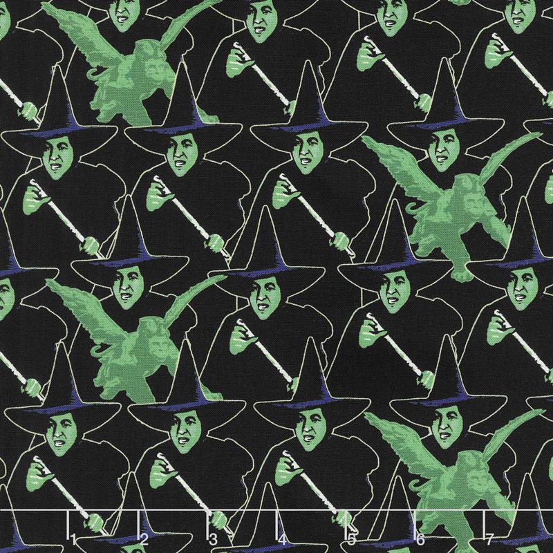 Wizard of Oz - Wicked Witch Black Yardage