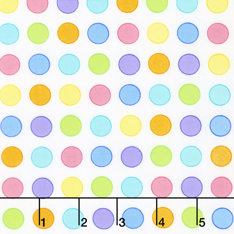 Confetti - Dots Everywhere Multi Yardage