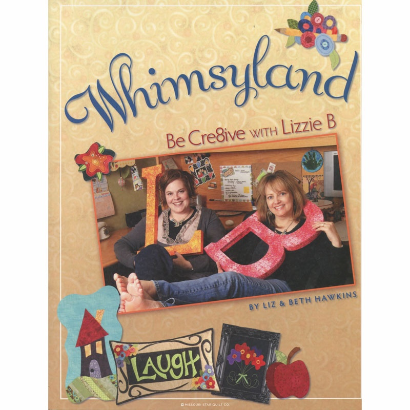 Whimsyland Book - Be Cre8ive with Lizzie B