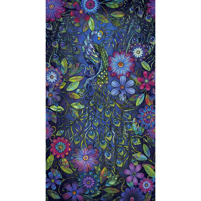Starlight & Splendor - Pageantry Moonlit Digitally Printed Panel
