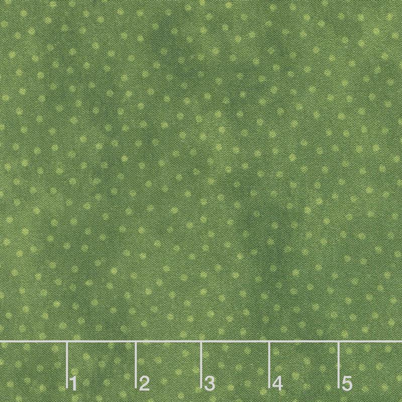 Deck the Halls - Dots Green Yardage