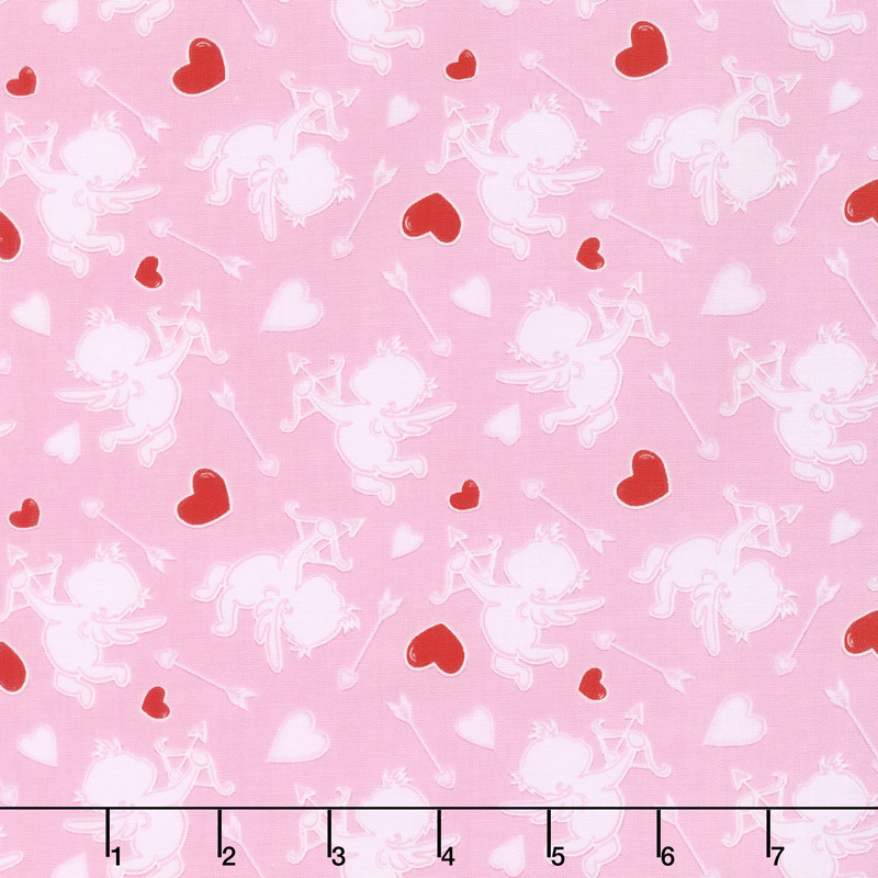 Love Struck - Cupids Pink Yardage