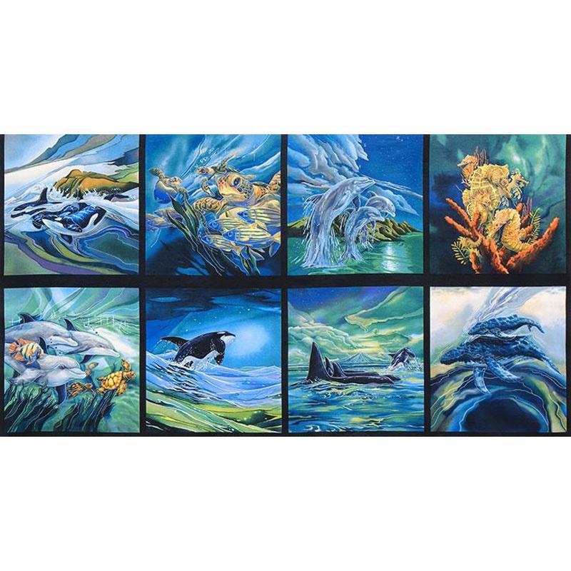 North American Wildlife 2 - Sealife Ocean Panel