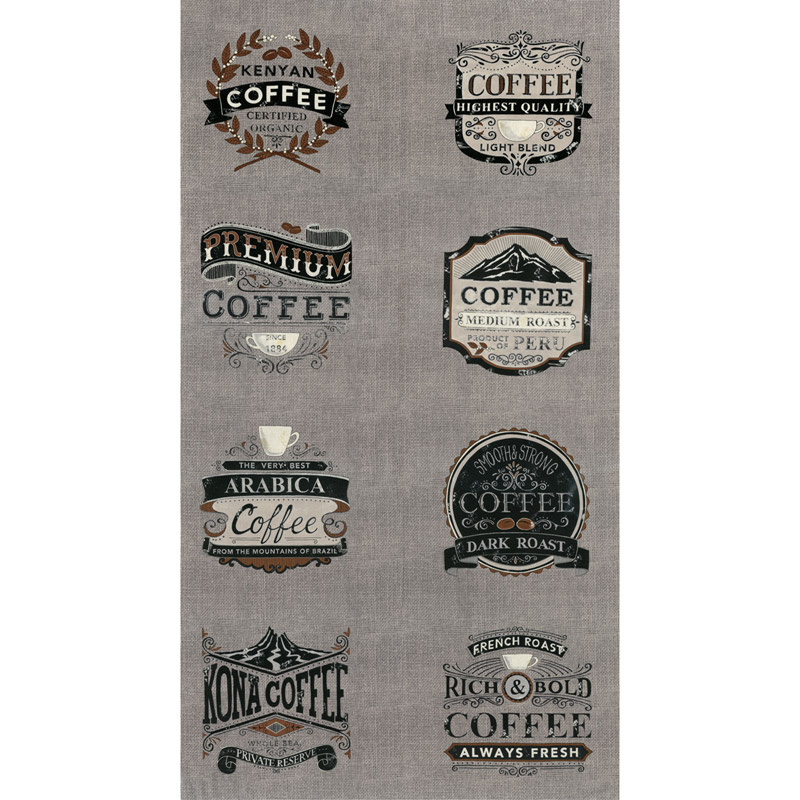 Brew - Coffee Warm Grey Panel
