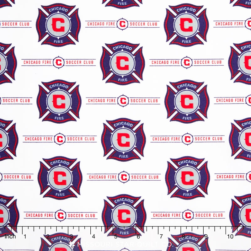 MLS Major League Soccer - Chicago Fire Soccer Club Yardage