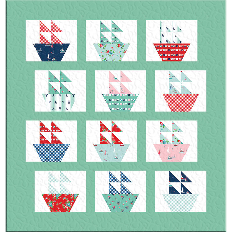 Missouri Star Seaside Sail Away Kit