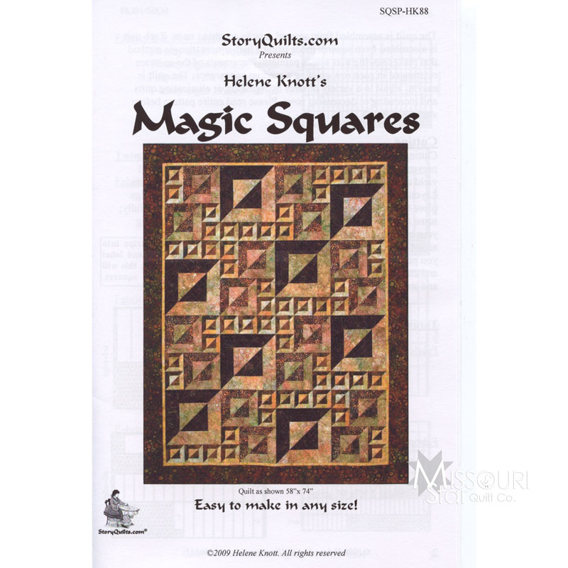 Magic Squares Pattern | Story Quilts — Missouri Star Quilt Co
