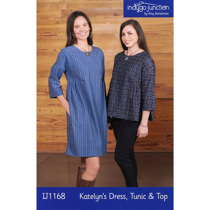 Katelyn's Dress, Tunic and Top Pattern