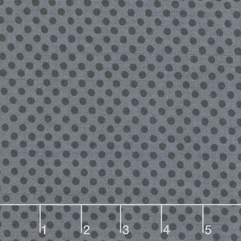 Free Range Fresh - Dots Black Yardage