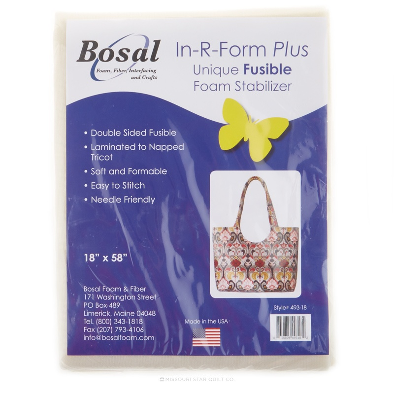 In R Form Plus Double Sided Fusible Foam Stabilizer