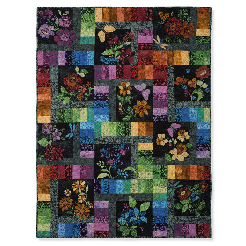 Enchanted Garden Block Of The Month Jason Yenter In