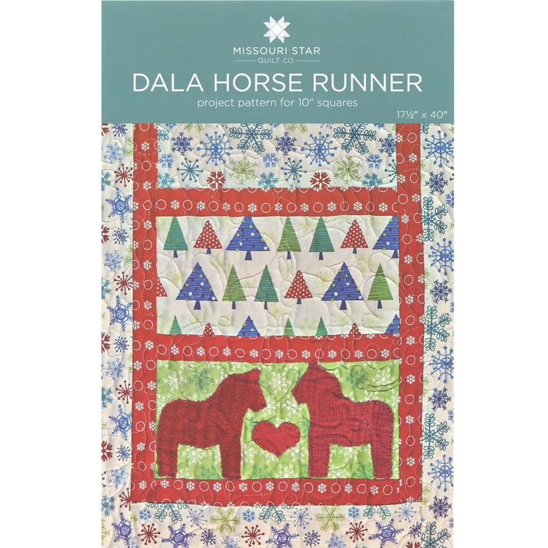 Dala Horse Runner Pattern By Missouri Star Missouri Star Quilt Co
