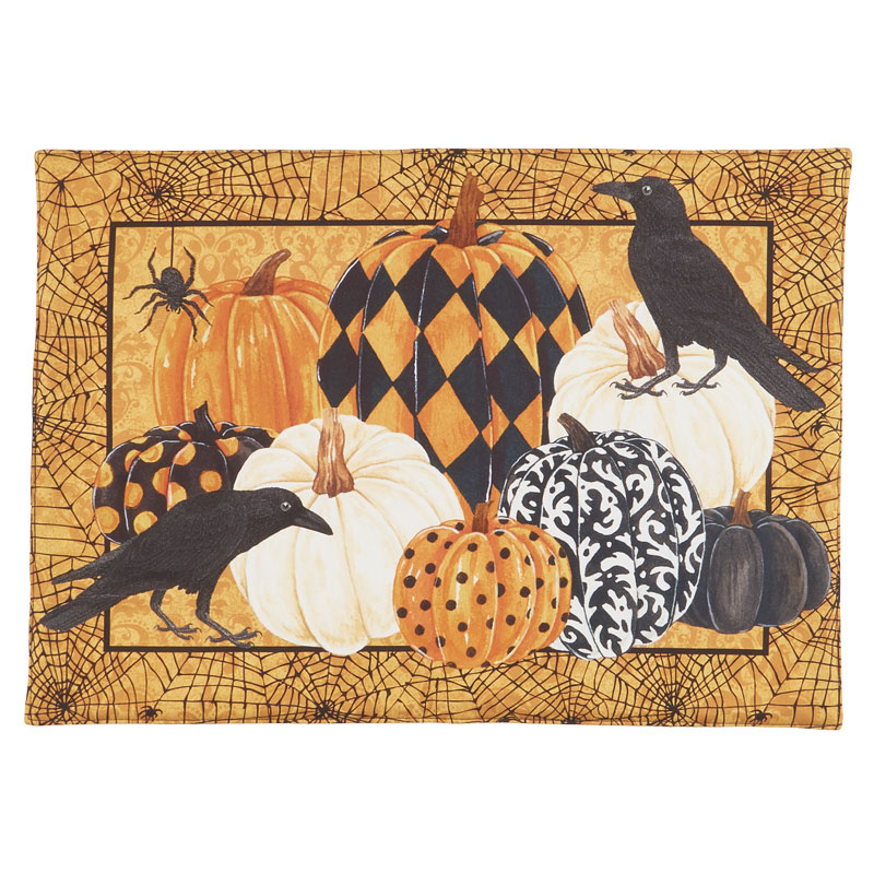 Raven's Claw - Place Mat Orange Multi Digitally Printed Panel