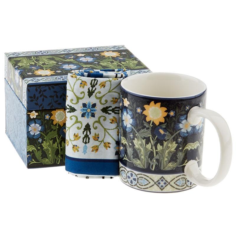 Dear William Coffee Mug with Coaster Panel