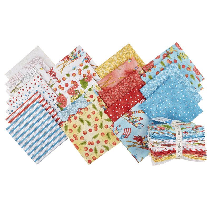 Back Porch Celebration Fat Quarter Bundle