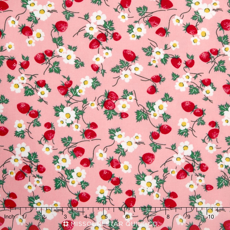 everything but the kitchen sink 2016 berries and blooms bubblegum yardage rjr fabrics rjr
