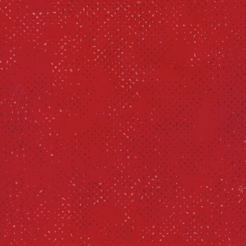 Spotted - Christmas Red Yardage